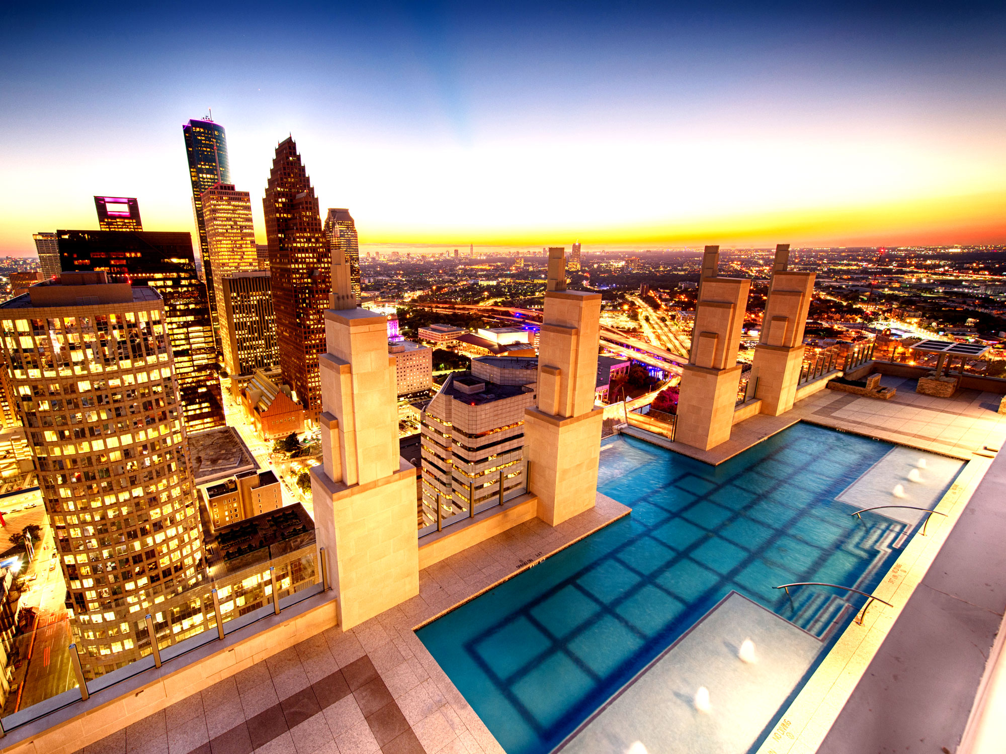 Sky Pool market square tower | texas apartments | news