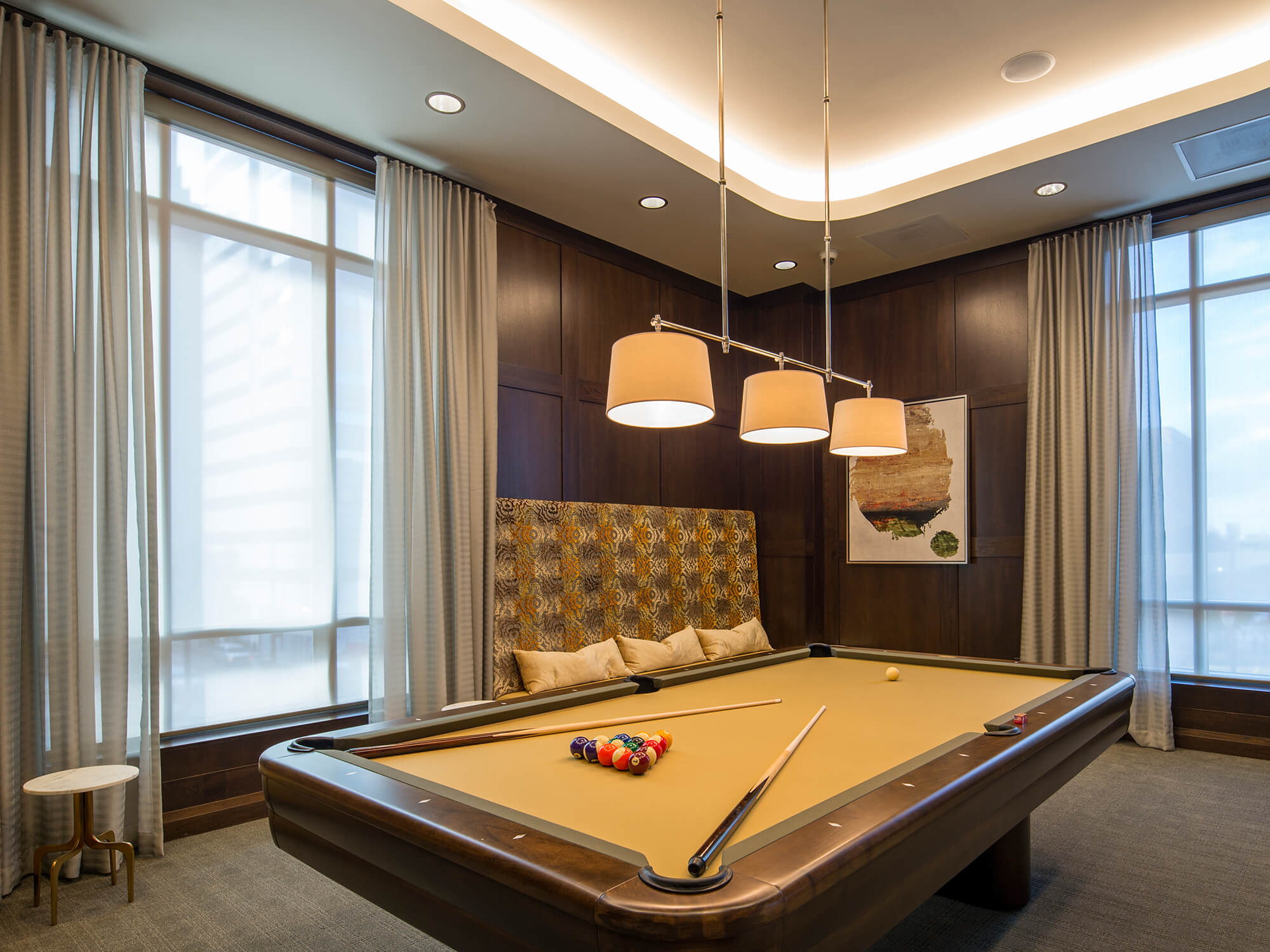 Market Square Tower Billiards Room