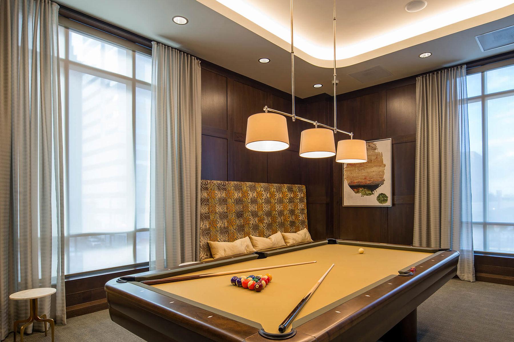 Market Square Tower Billiards Room