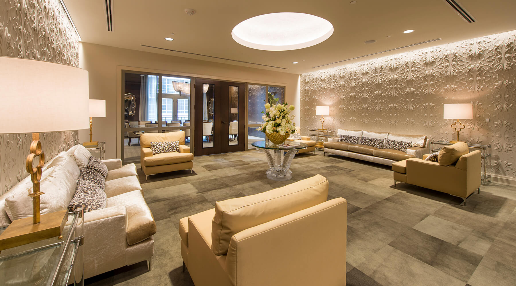 MST Lobby Houston Apartments