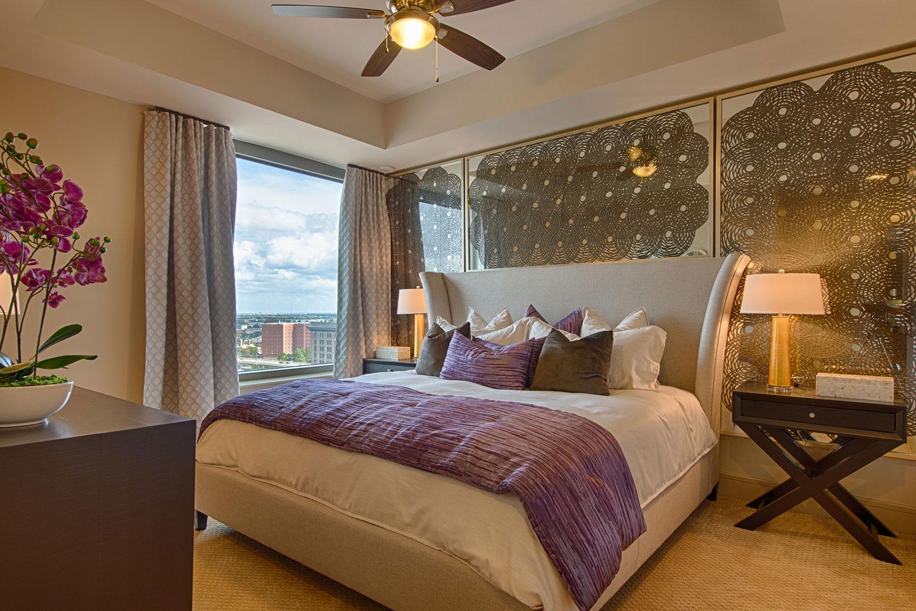 MST 1 BDRM Luxury Bedroom